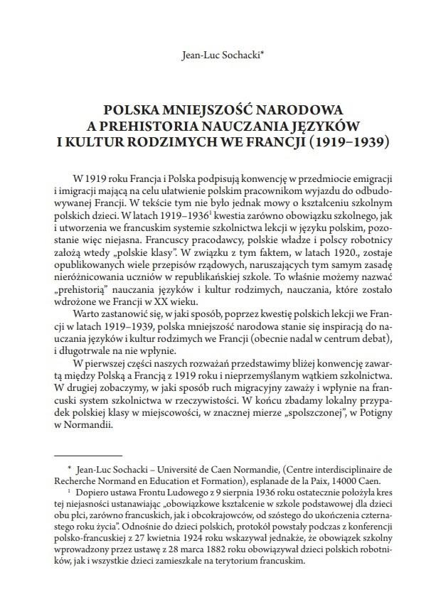 publication polonais